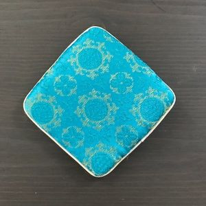Vintage Bags - Vintage jewelry zippered pouch